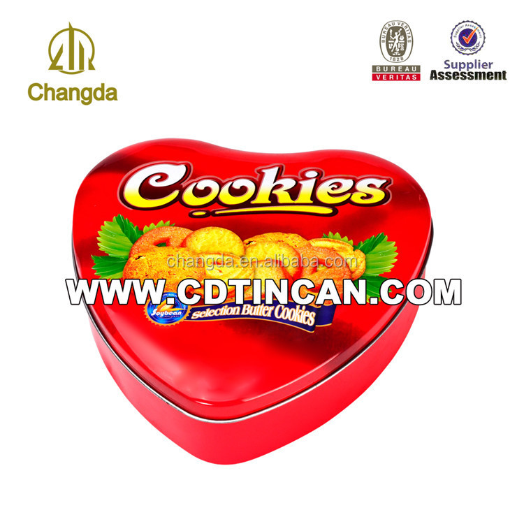heart shaped wedding invitation candy tin box