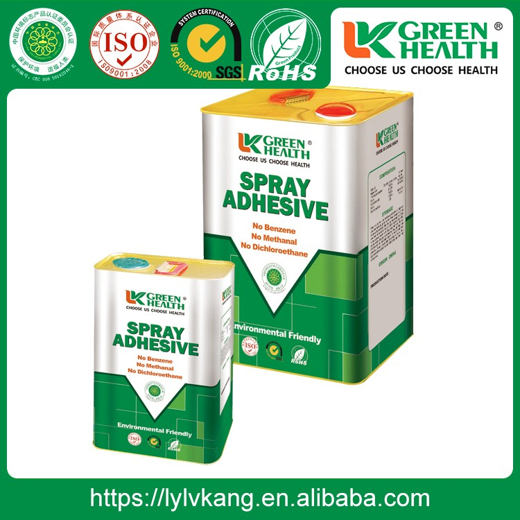 Light Smell SBS Spray Adhesive For Furniture