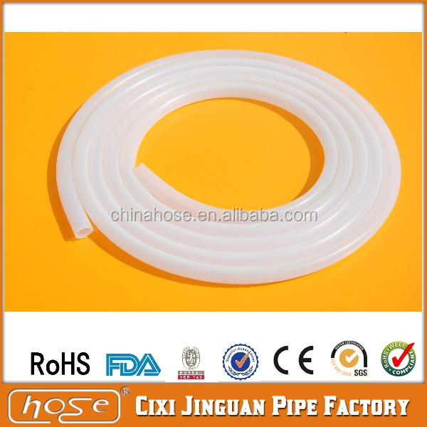 JG Flexible Food Grade Silicone Tubing for Coffee Maker,Silicone Rubber Vacuum Hose, Cheap Clear Silicone Tube