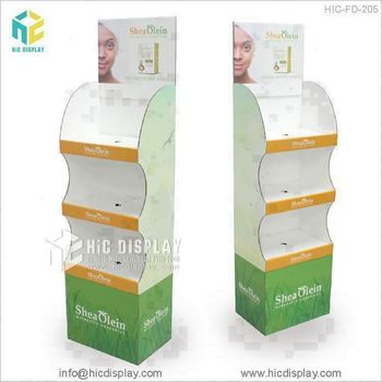 HIC China supplier cardboard advertising display stands