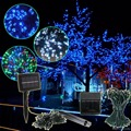 Tiny twinkle solar string lights solar powered led string for holiday deco