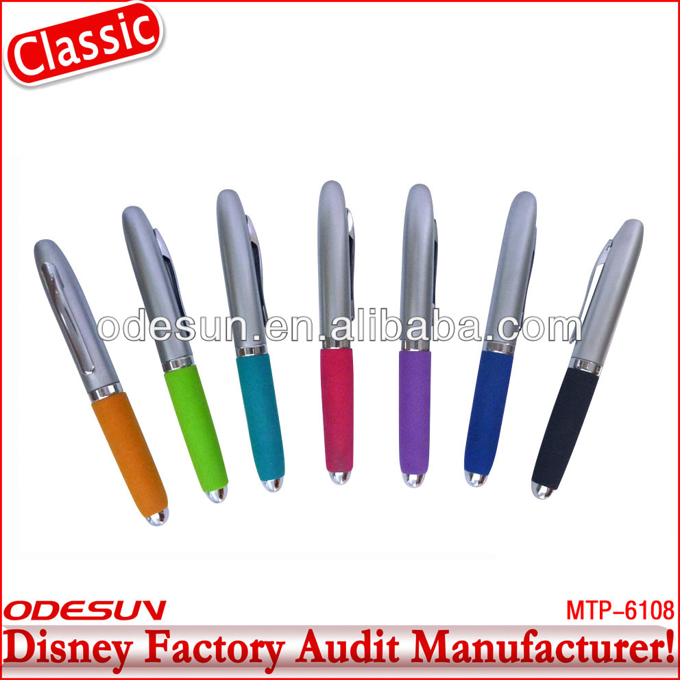 Disney factory audit manufacturer's metal roller ball pens 142190