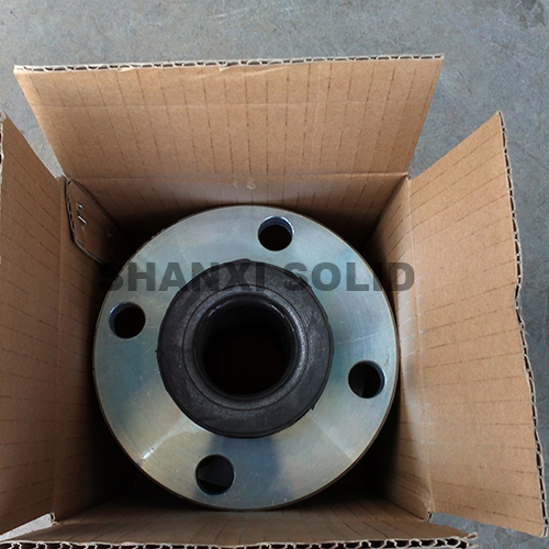 DIN Flanged galvanized rubber expansion joint