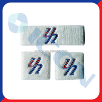 Sport wrist sweatband / Cotton sweatband
