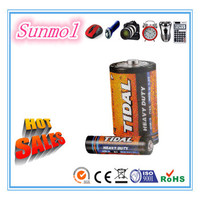 r20 um1 d size zinc carbon dry battery