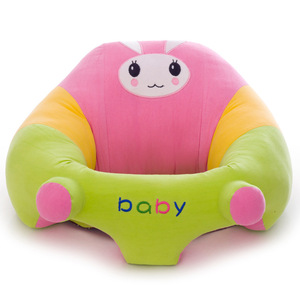 Infant Sitting Chair Snuggle Cute Support Seat Soft Cotton Travel Car Seat Pillow Cushion Toys Baby Seats Sofa