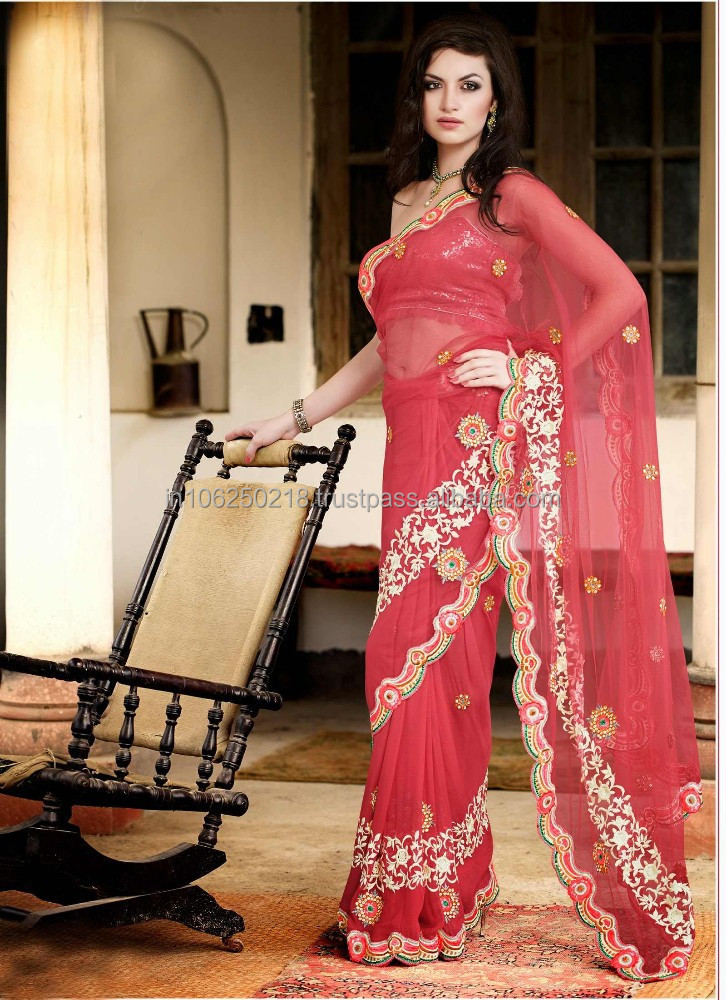 Wedding dress / indian bridal wedding sarees / wholesalers in surat R3719