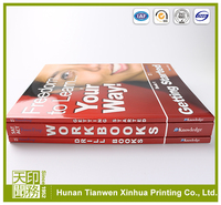 Custom perfect bound my hot color book printing in China
