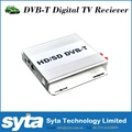 High Speed Car Satellite TV Receiver Car DVB T Receiver With Double Antenna 1080P HD with PVR For Car Use