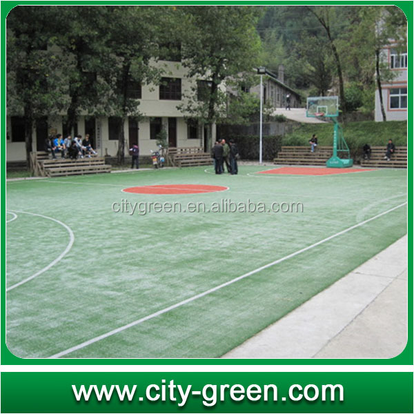 artificial grass gym floor for basketball flooring