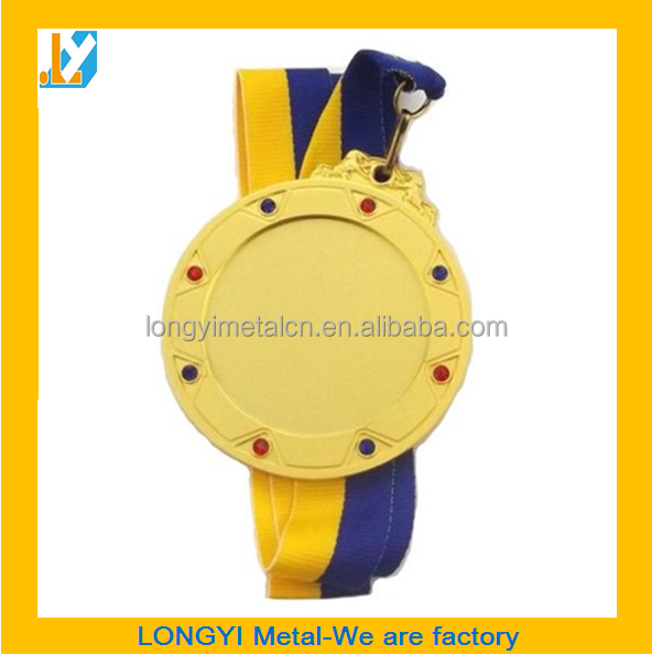 High quality Metal blank medallion & blank medal and trophy