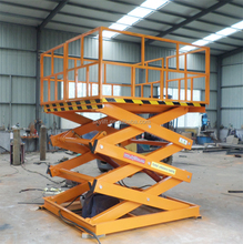 Stationary hydraulic motorcycle sky lift platform used lift