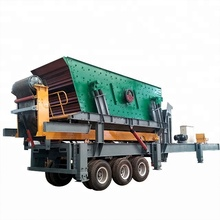 Hot sale Mobile impact/Jaw crushing plant with feeder and screen