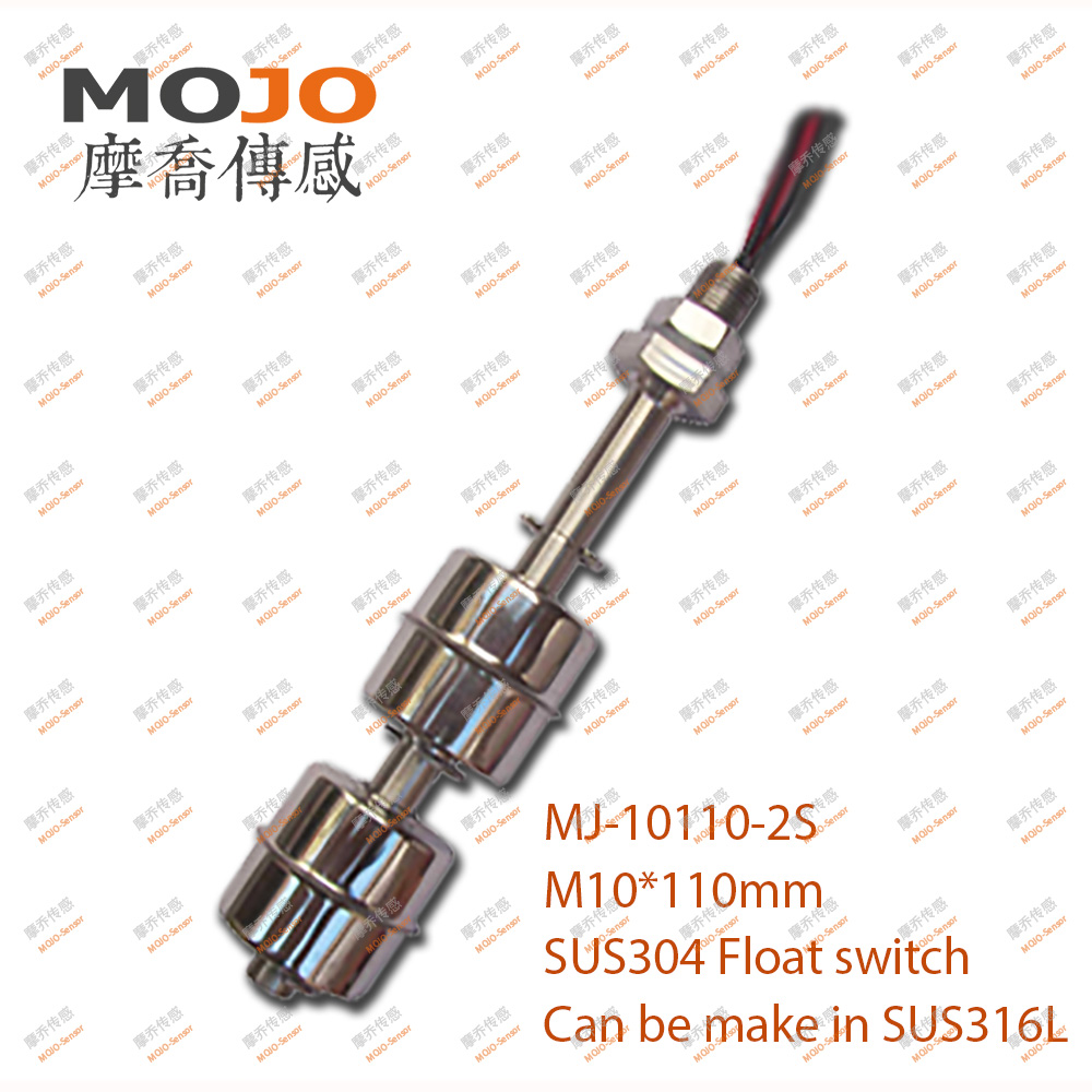 MJ-10110-2S (220V 1A 50W)Stainless Steel material double floating ball hot water level <strong>sensor</strong>