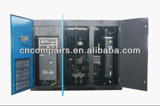 Variable speed driven-Variable Frequency rotary screw air compressor 55kw 75kw 90kw