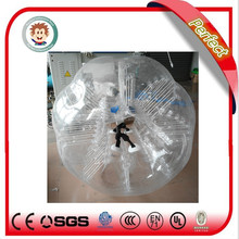 Alibaba China manufacturer inflatable body zorbing ball for kids