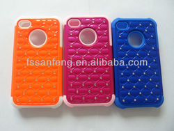 China factory wholesale phone accessories/cheap mobile phone case for iphone4