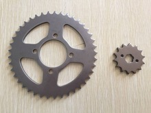 CG125 14T/43T motorcycle 420/428 chain sprocket