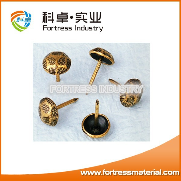 Bronze decoration button/nail for sofa