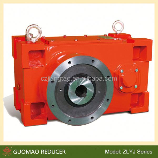 Zlyj 112-8 with ratio 8:1 single extruder high-power reduction gears for rubber and plastic industry