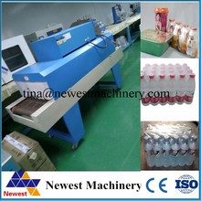Chinese supplier pof film shrink wrapping machine/automatic shrinking machine/heat shrink tunnel