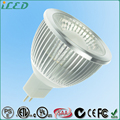 38 Degree Beam Angle 450LM 5W COB MR16 LED Spot Light Bulb Dimmable 2700-3000K