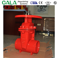 "24"" fire fighting wedge gate valve"