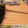 Wood composite outdoor rubber flooring