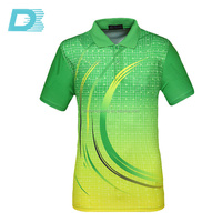 Hot sale new fashion 100% cotton or 100% polyester sublimated printed polo t shirt
