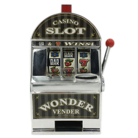 Table Top Slot Machine Shape Money