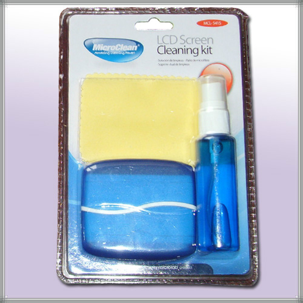 9 years no complaint hot sale 3 in 1 LCD Screen cleaning kit with cloth