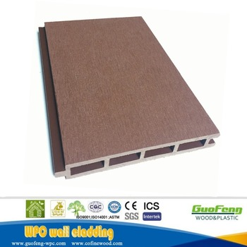 Wood composite WPC Waterproof Decorative Exterior Wall Panels