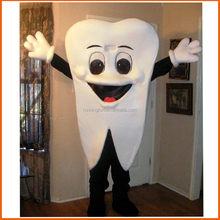 Lovely tooth mascot costume,used mascot costumes for sale