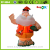 Hot sale lighting inflatable christmas decorations santa claus