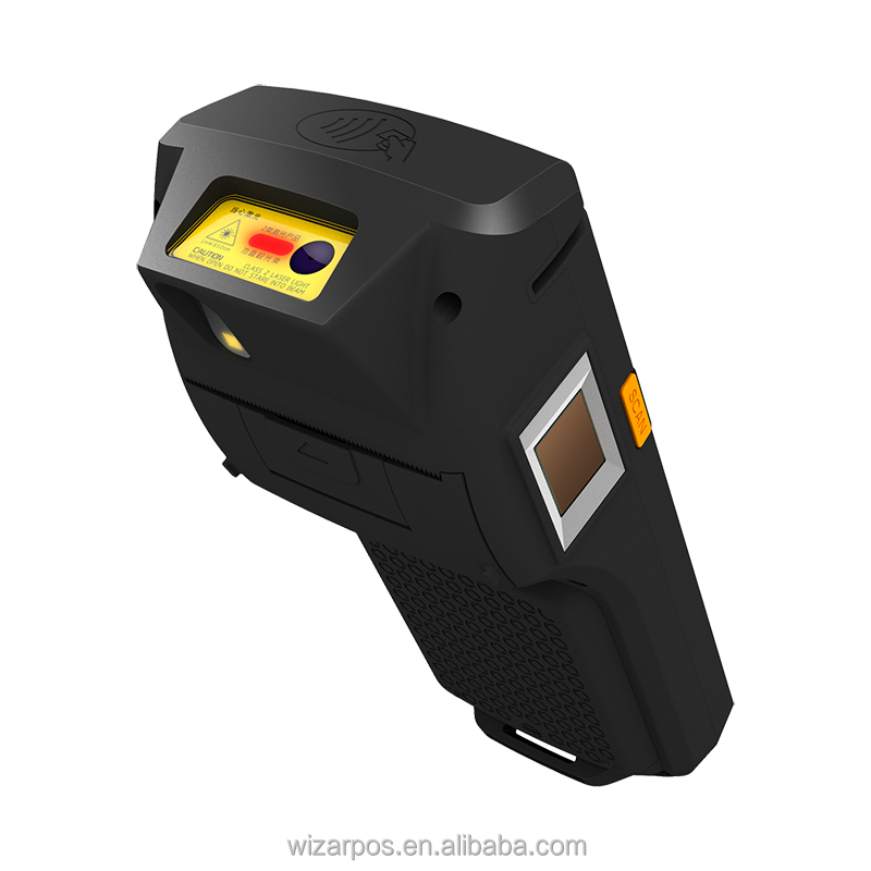 Handheld Mobile Wireless Android POS Terminal With Thermal Printer