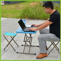 Outdoor office table and folding stool HQ-1052-14