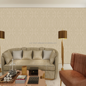 latest pvc vinyl coated washable modern room wallpaper designs