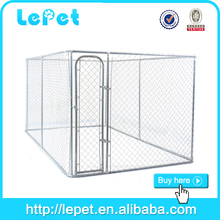 hot sale chain link rolling steel puppy dog fence cage