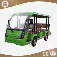 Factory supply 11 passenger electric shuttle bus for sale with CE Certificate