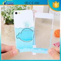 Fashion style cute cartoon screen protector for iphone 6 plus