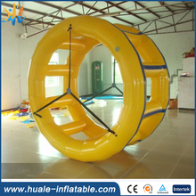 High quality inflatable water toy, inflatable water wheel for water park