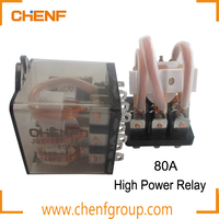 Factory Directly Sales JQX-78F 80A Power Relays Controlled Power Strip