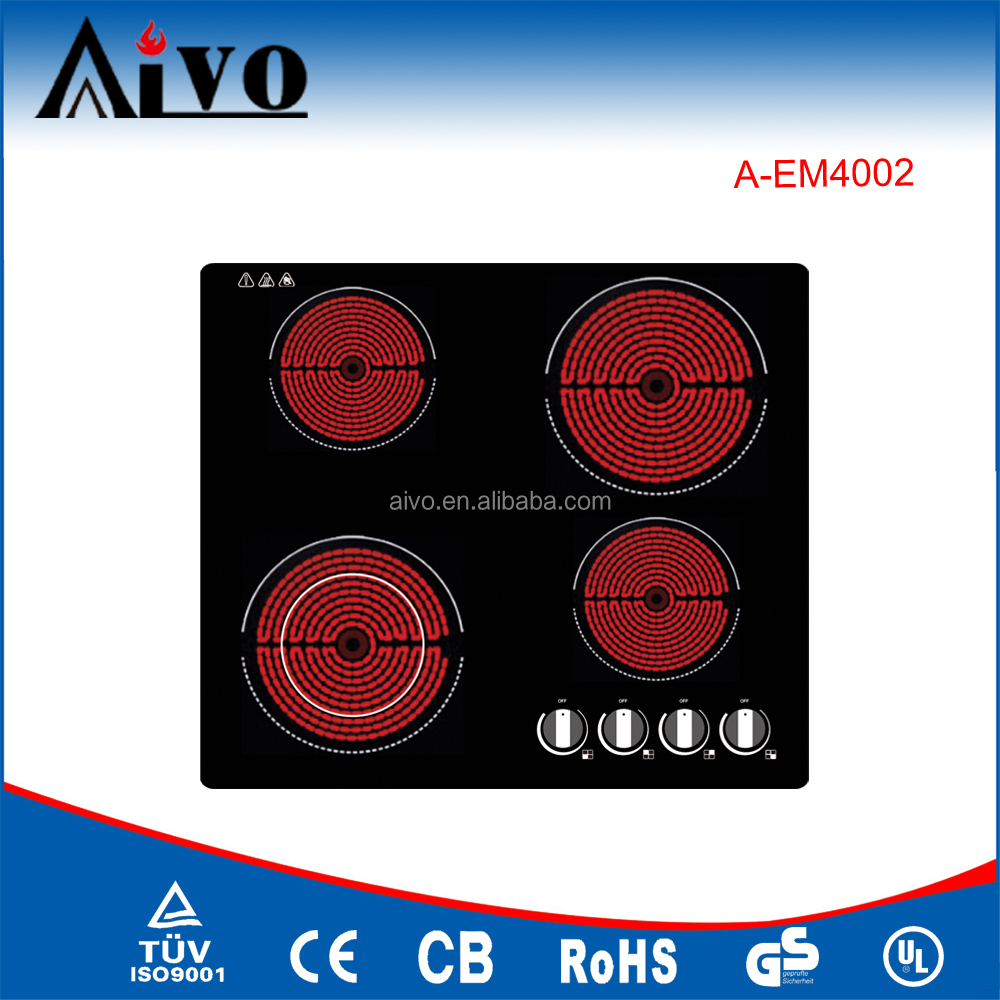 4 zones burners touch control electric stoves ceramic hobs induction cookers
