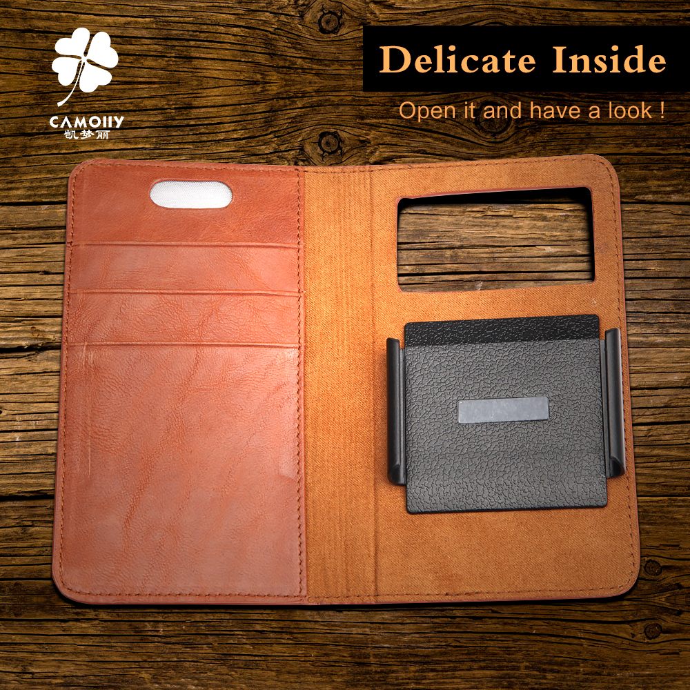 Factory OEM Service Customize Leather Wallet Case For leather wallet case