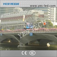 mobile truck advertising led display electronic sign board