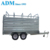 Hot Sell HDG Livestock Cattle Crate Box Trailer