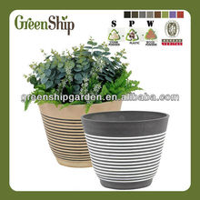 Eco-friendly Wholesale Ceramic Pots for Plants /10 years lifetime/ UV protective