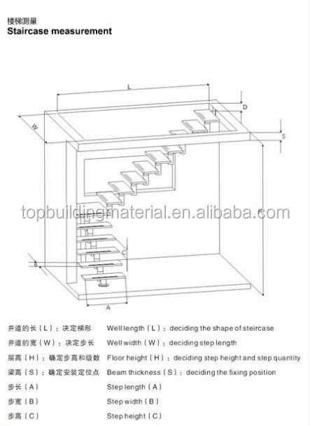 Int rieur moderne en fer forg escalier en colima on en bois prix escaliers i - Largeur escalier colimacon ...