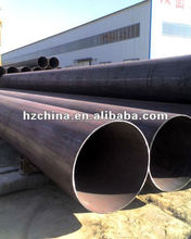Manufacturer preferential supply big diameter large OD erw black steel pipes stainless steel pipe