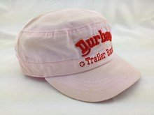 Embroidered military baseball caps pink army baseball cap for camper